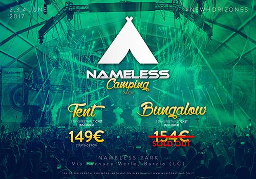 NAMELESS CAMPING