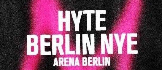 HYTE FESTIVAL BERLINO NYE2017