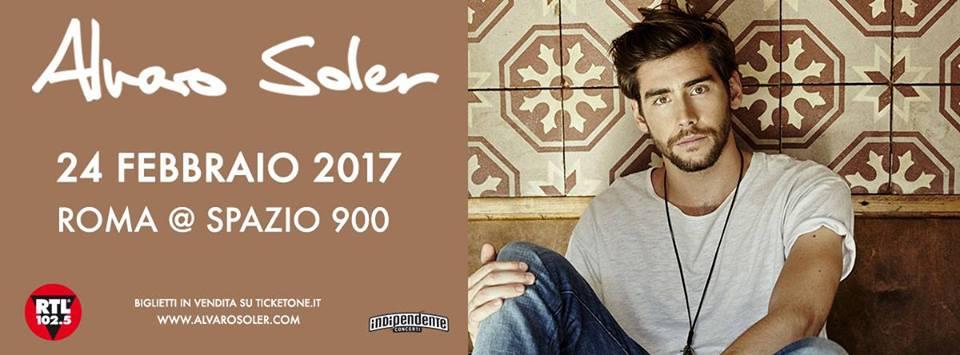 ALVARO SOLER AT SPAZIO 900 24 FEBBRAIO 2017