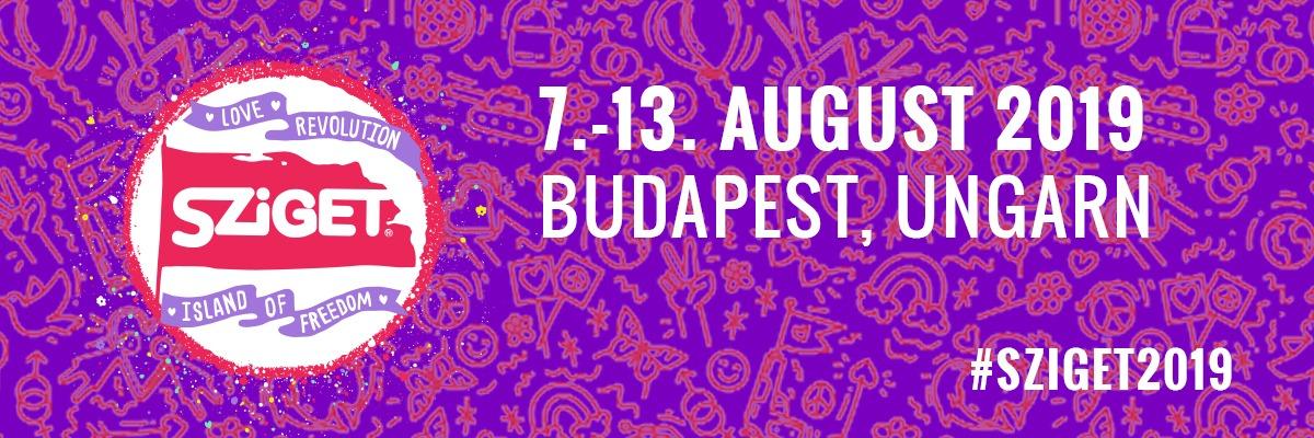 Sziget Festival 2019 – 7 13 Agosto – Budapest Ungheria