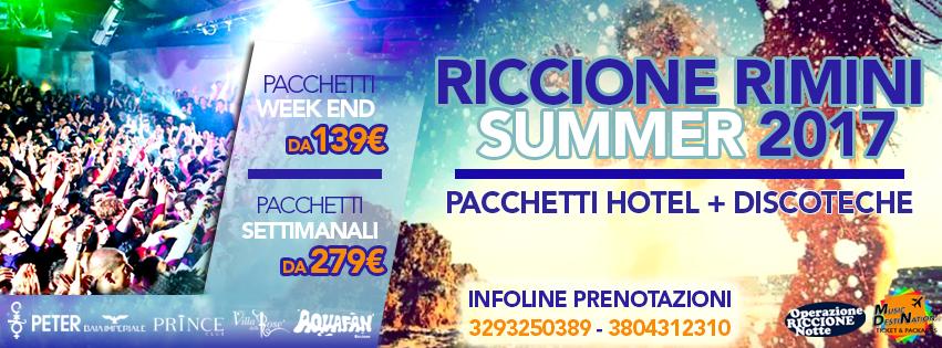 vacanze riccione summer 2017