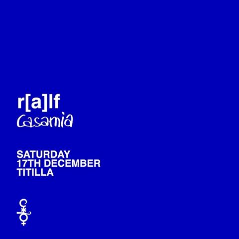 SABATO 17 DICEMBRE 2016 RALF AT TITILLA COCORICO