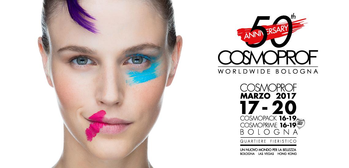 COSMOPROF 2017 – BOLOGNA – Dal 16 al 20 Marzo 2017