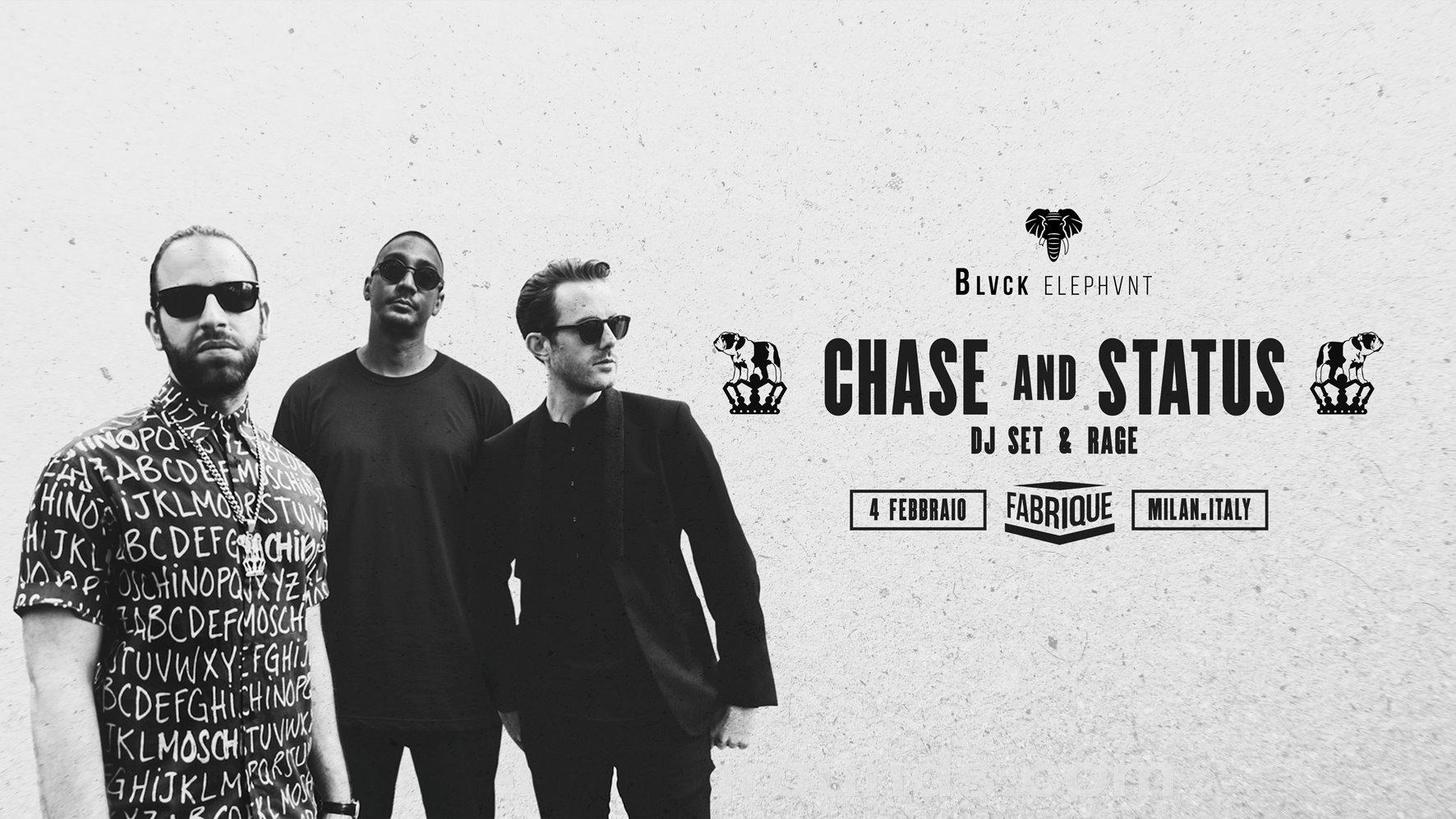 Chase and Status – Fabrique – Milano – Sabato 4 Febbraio 2017