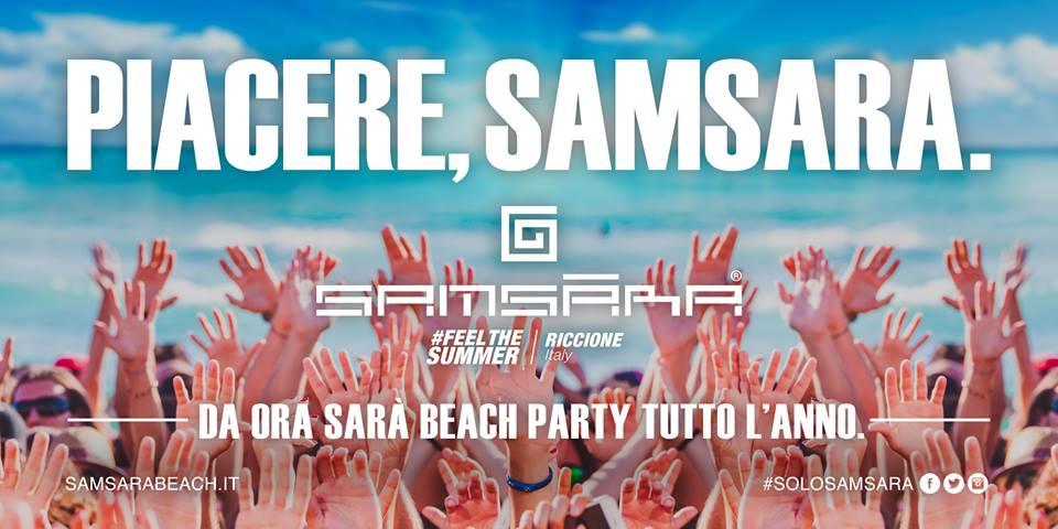 Il Samsara Beach sbarca a Riccione