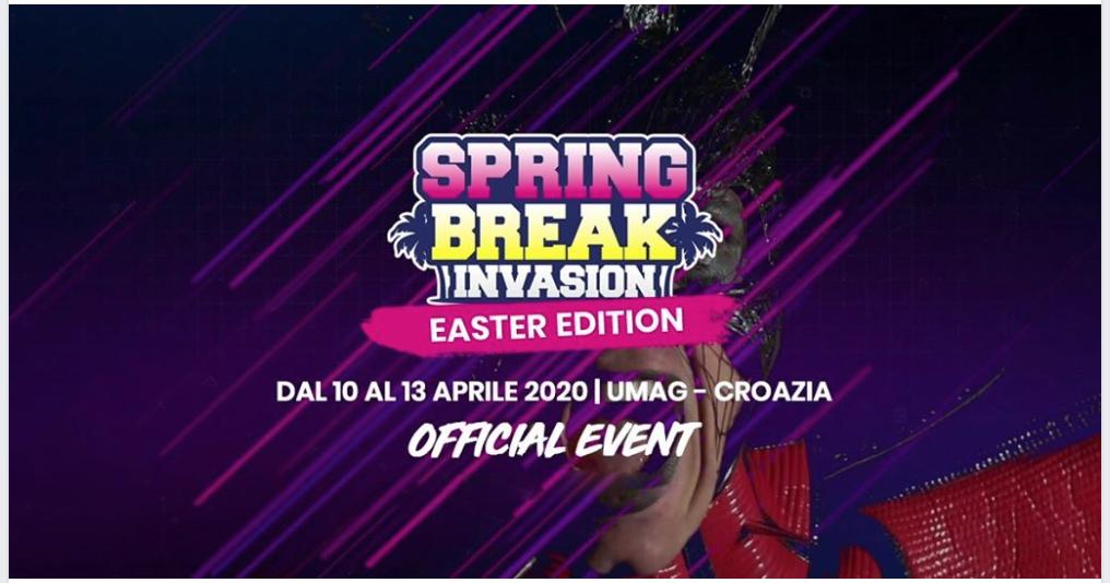 spring break invasion 2020