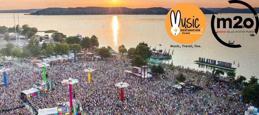 150mila presenze, sembra il Tomorrowland invece è il Balaton Sound Festival