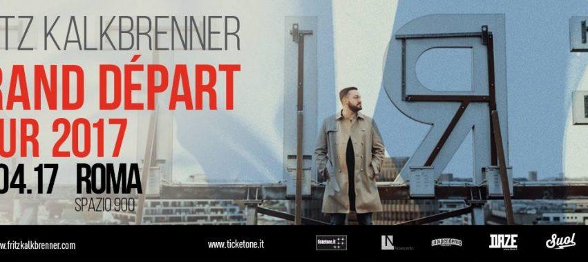 fritz kalkbrenner spazio novecento roma sabato 8 aprile 2017