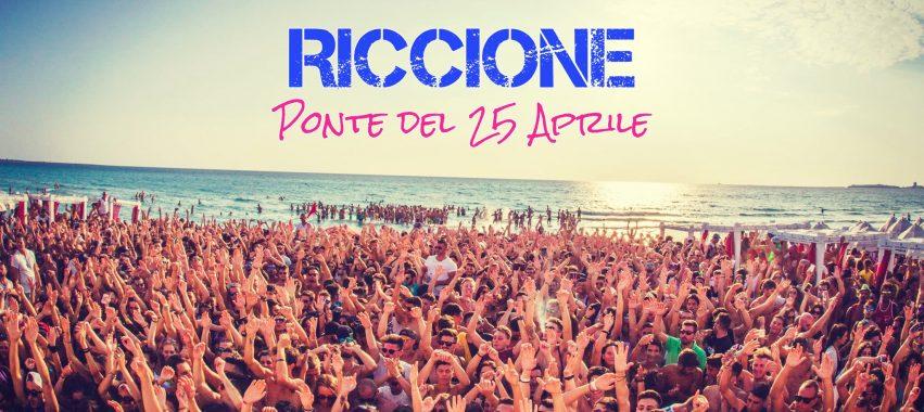 25 Aprile a Riccione: RALF in BIKINI, SAMSARA E COCORICO'