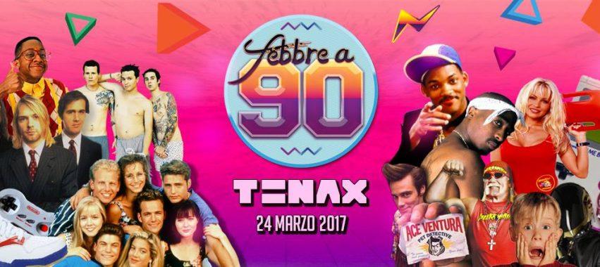 febbre a 90 tenax firenze venerdì 24 marzo 2017