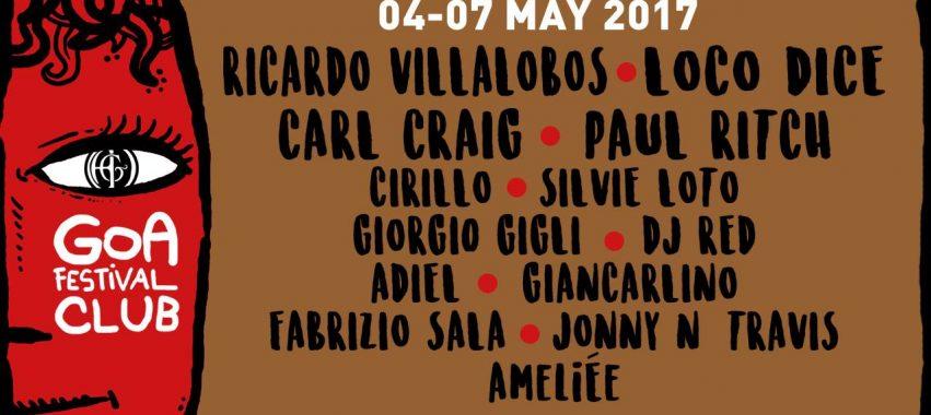 Goa Festival CLUB Roma 4 – 7 Maggio 2017