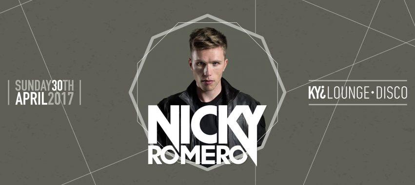 Nicky Romero @Kyi Lounge Disco – 30 aprile 2017