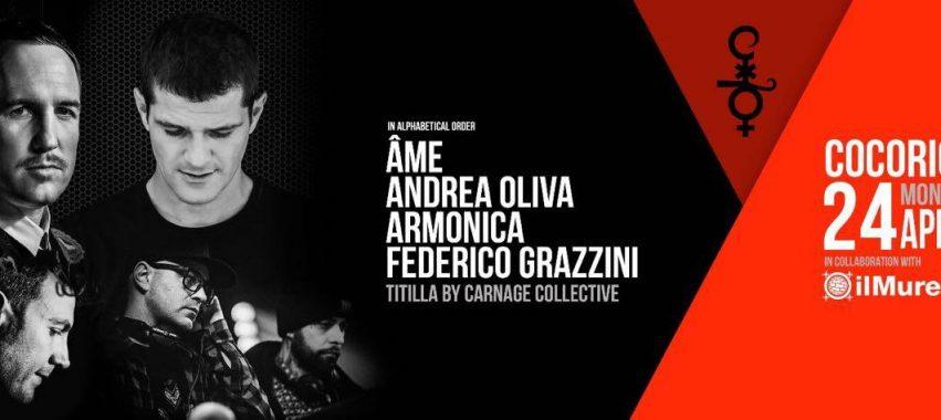Âme + Andrea Oliva / Cocoricò – 24 Aprile 2017