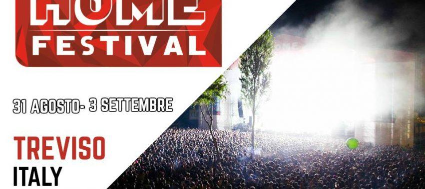 HOME FESTIVAL 2017 Treviso – 31 Agosto/3 Settembre