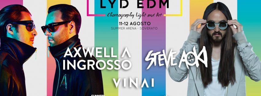 LYD – EDM Festival @ Soverato (CZ) – 11/12 Agosto 2017