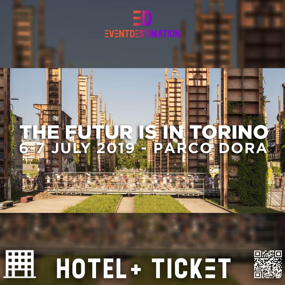 PACCHETTI HOTEL kAPPA FUTURFESTIVAL 2019 TORINO