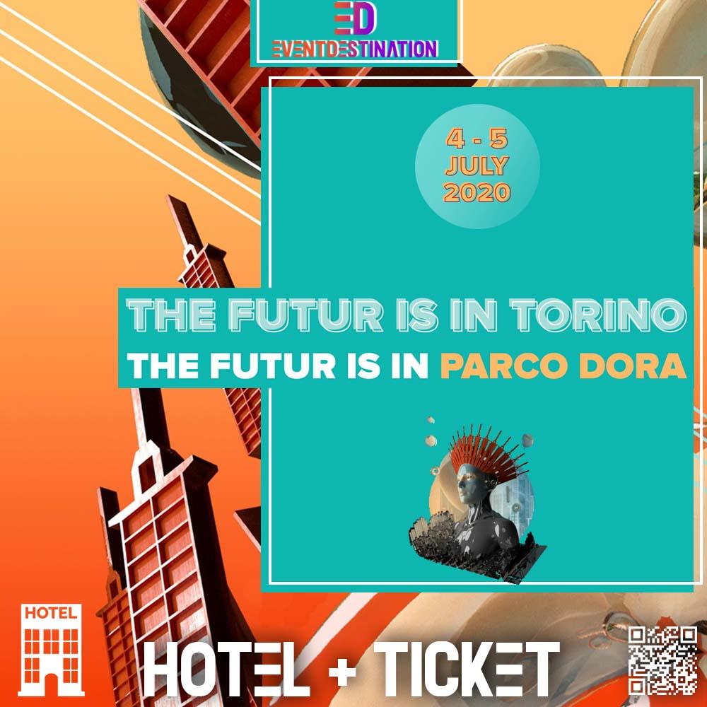 PACCHETTI HOTEL kAPPA FUTURFESTIVAL 2020 TORINO