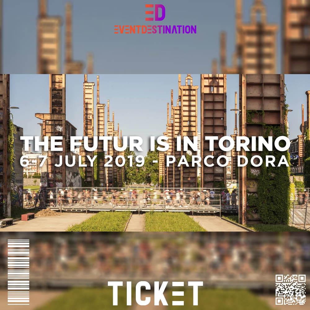 TICKET kAPPA FUTURFESTIVAL 2019 TORINO