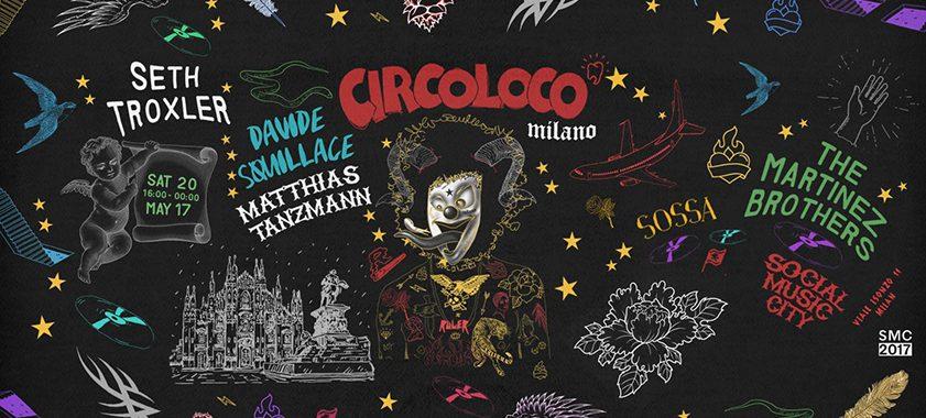Social Music City | CIRCOLOCO – Sabato 20 Maggio 2017
