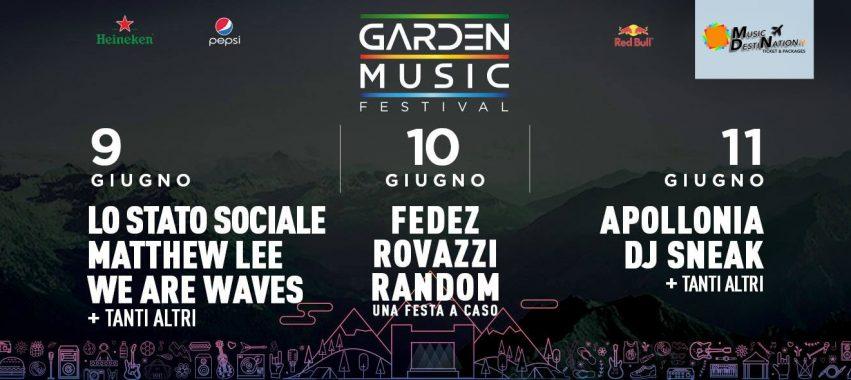 garden music festival aosta 2017 9 10 11 giugno