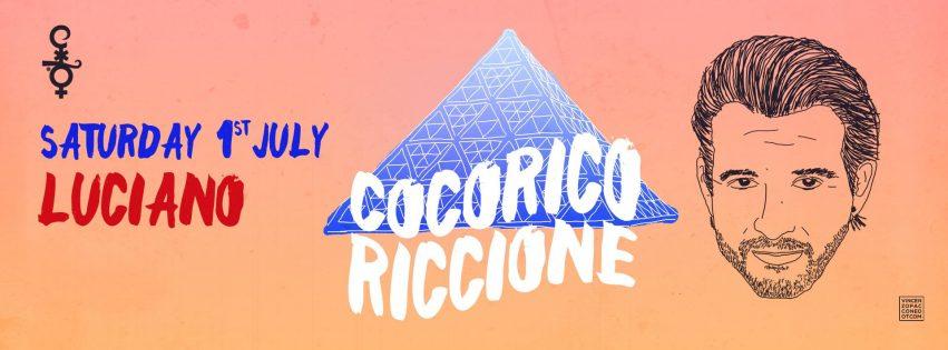 LUCIANO COCORICO RICCIONE 01 LUGLIO 2017