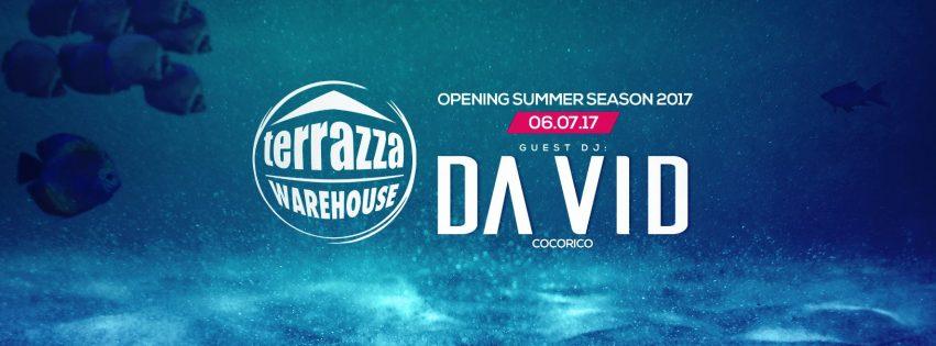 Opening Party Terrazza Warehouse – 6 Luglio 2017
