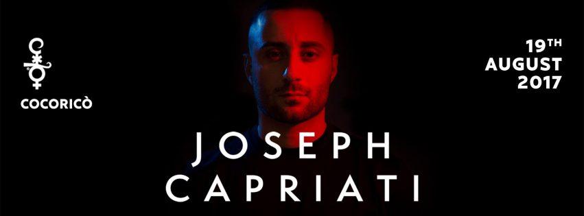 COCORICO pres. Joseph Capriati – 19 Agosto 2017