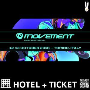 Movement Torino Music Festival 2018 – Pacchetti Hotel + Ticket