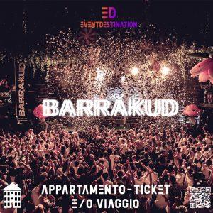 BARRAKUD Festival 2020 – Pag Croazia Pacchetti Appartamento + Ticket e/o Viaggio