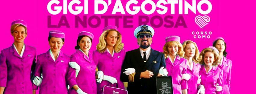 Il Muretto pres. Gigi D'agostino w La Notte Rosa – 15 Agosto 2017