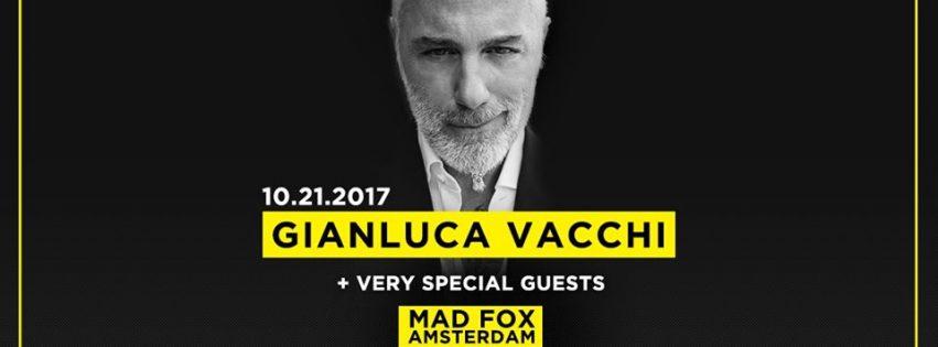 gianluca vacchi mad fox club amsterdam ade 21 ottobre 2017