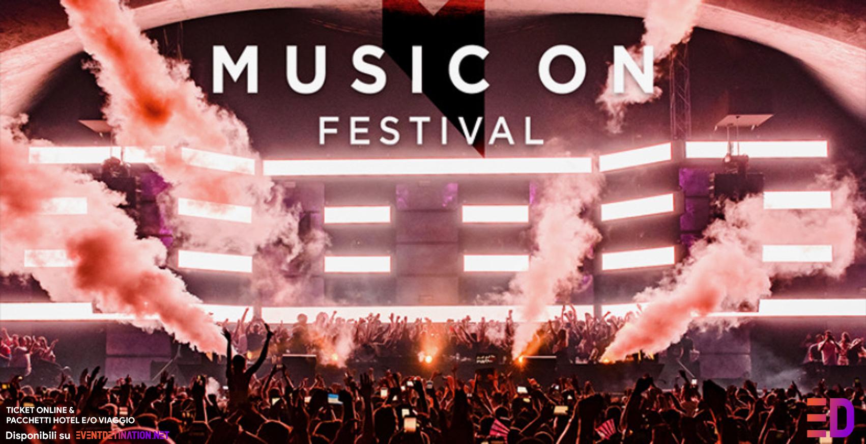 MUSIC ON FESTIVAL AMSTERDAM 09 e 10 Maggio 2020 Ticket Pacchetti Hotel