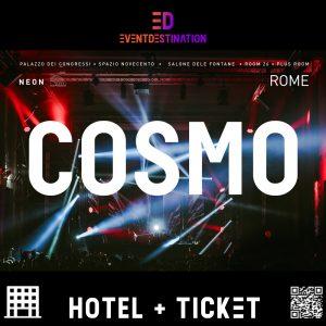 Cosmo Festival Nye Roma – Pacchetto Hotel + Ticket