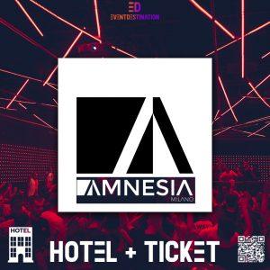 Amnesia Milano – Pacchetti Hotel + Ticket
