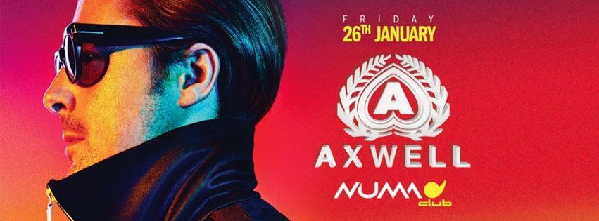 AXWELL @ Numa Bologna – Venerdi 26 Gennaio 2018