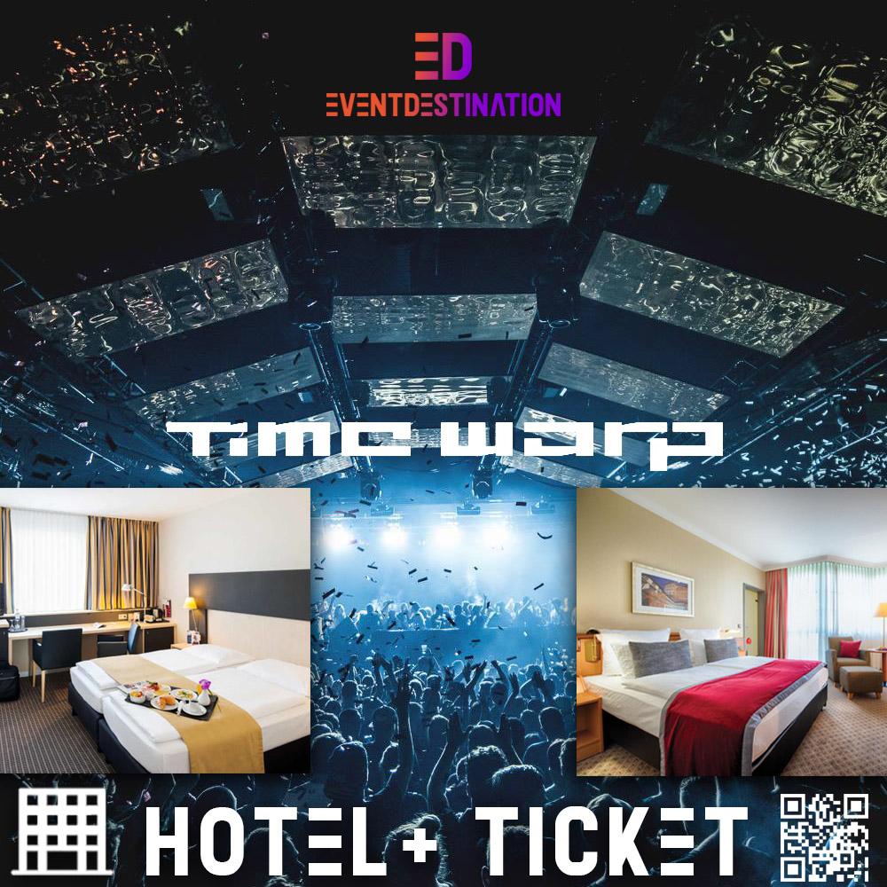 Time Warp Festival 2020 – Pacchetti Hotel + Ticket