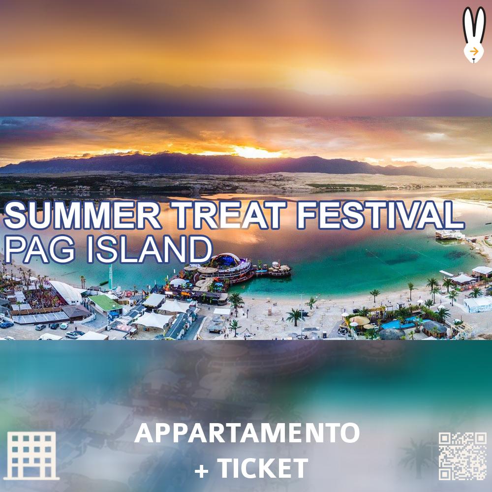 SUMMER TREAT FESTIVAL PACCHETTI APPARTAMENTO TICKET