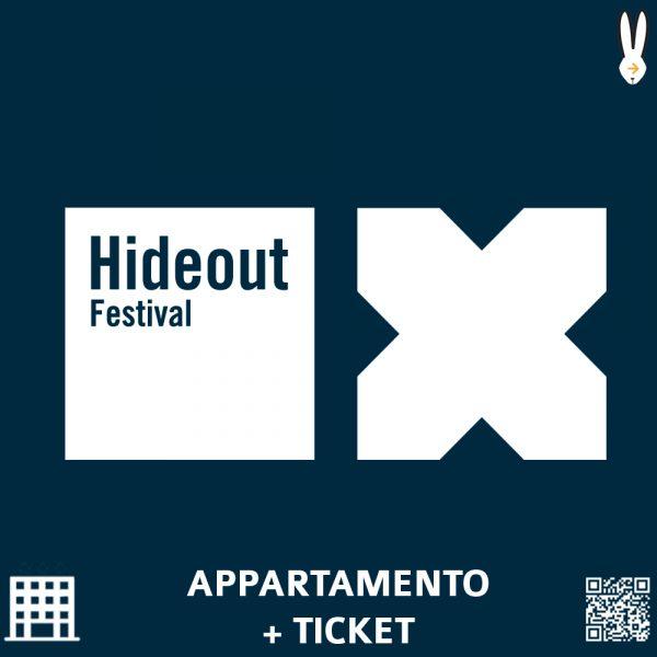 hideout festival pacchetto appartamento + ticket