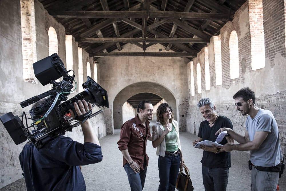 """Ligabue a Rimini per l'anteprima nazionale del suo film """"Made in Italy"""""""