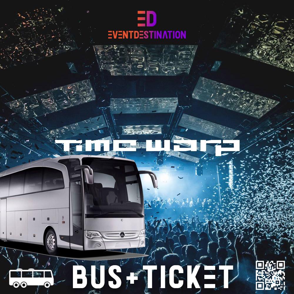 Time Warp Festival 2020 – Pacchetti Bus Ufficiali Italia
