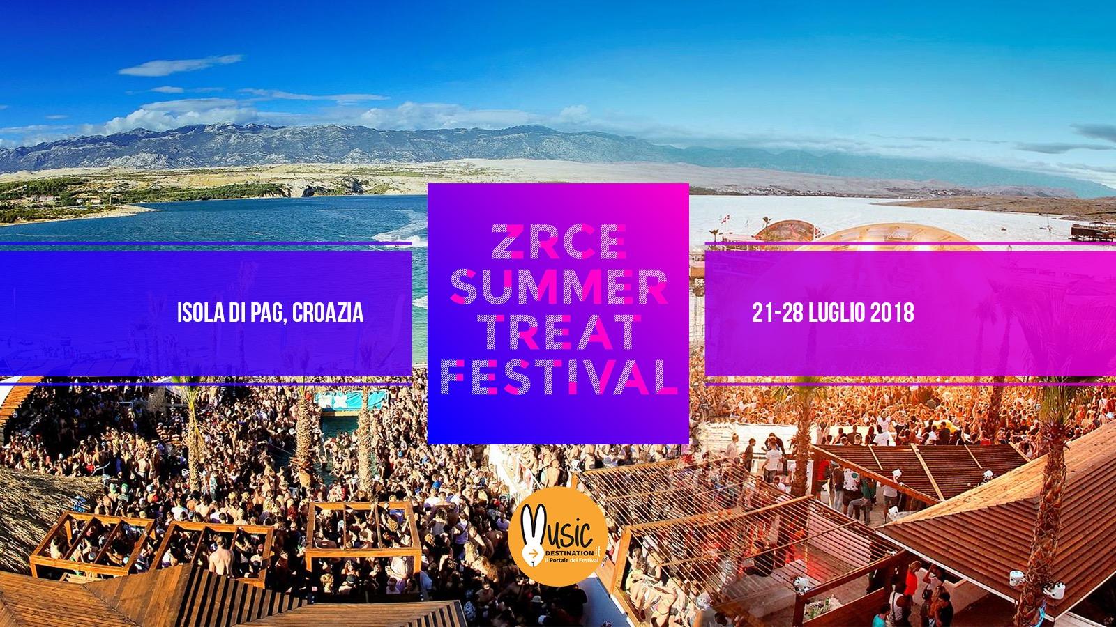 Summer Treat Festival 2019 – 20 – 27 Luglio | Pag Croazia