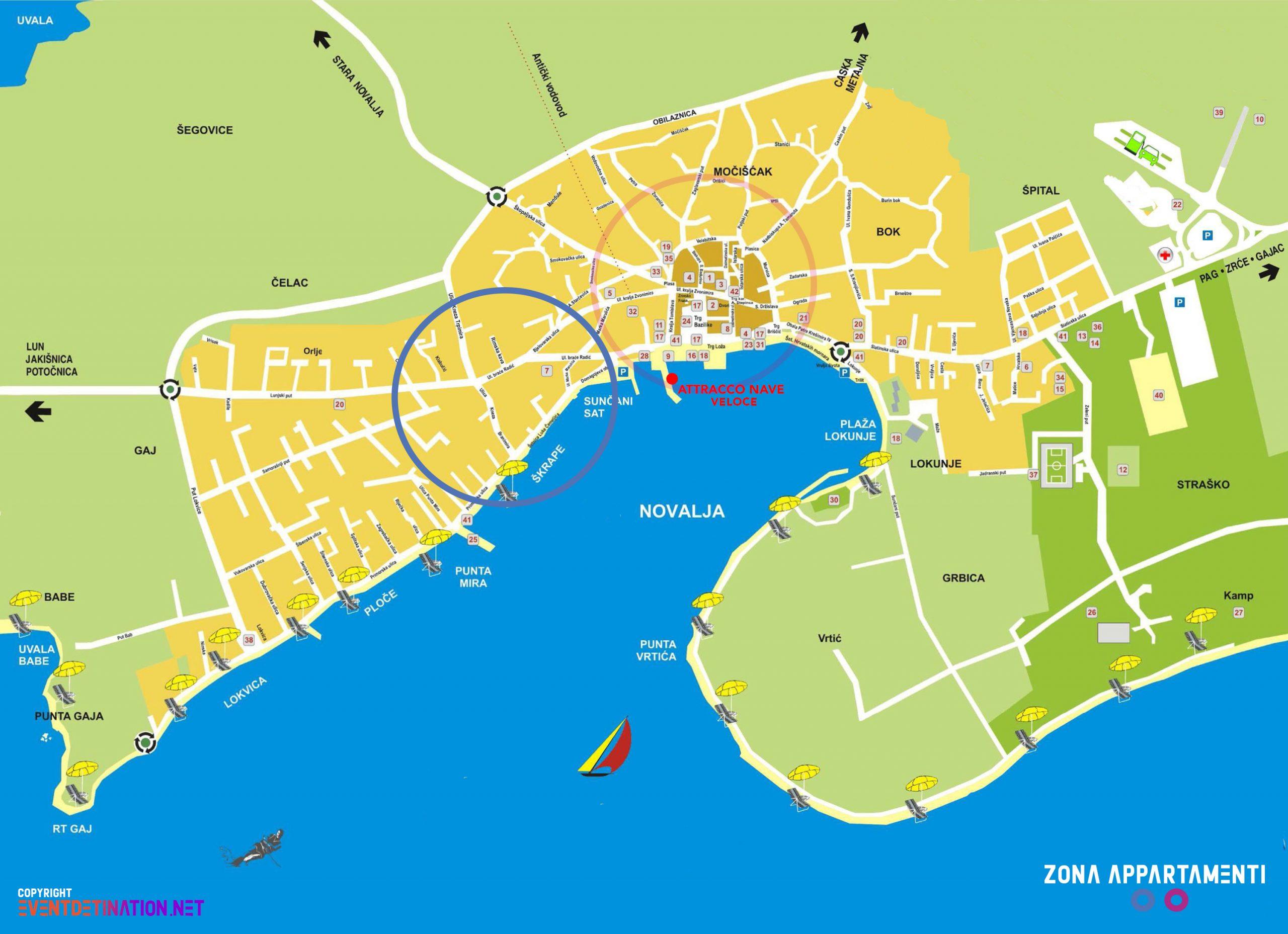 zona-appartamenti-mappa-novalja