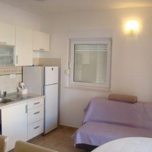 cucina appartamenti novalja centro