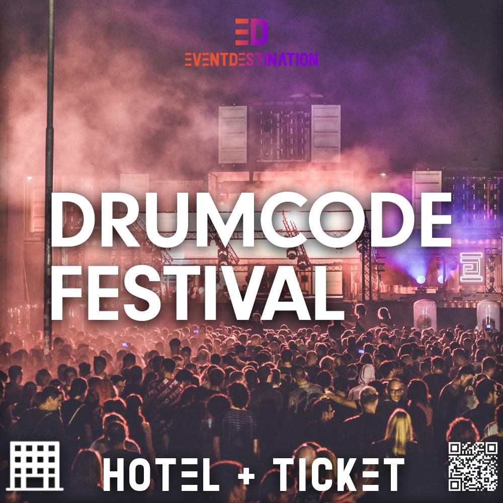 Drumcode Festival 2018 – Pacchetti Hotel + Ticket
