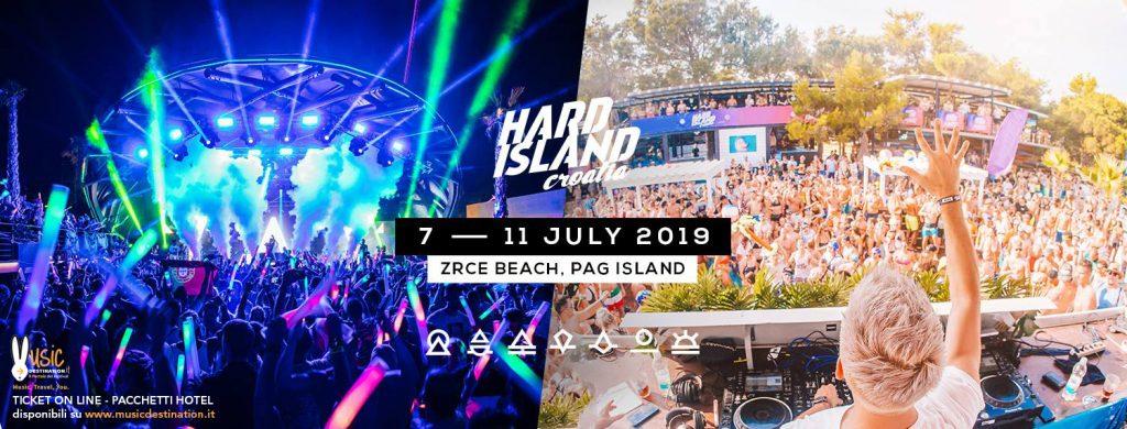 HARD ISLAND 2019 Ticket Pacchetti Hotel