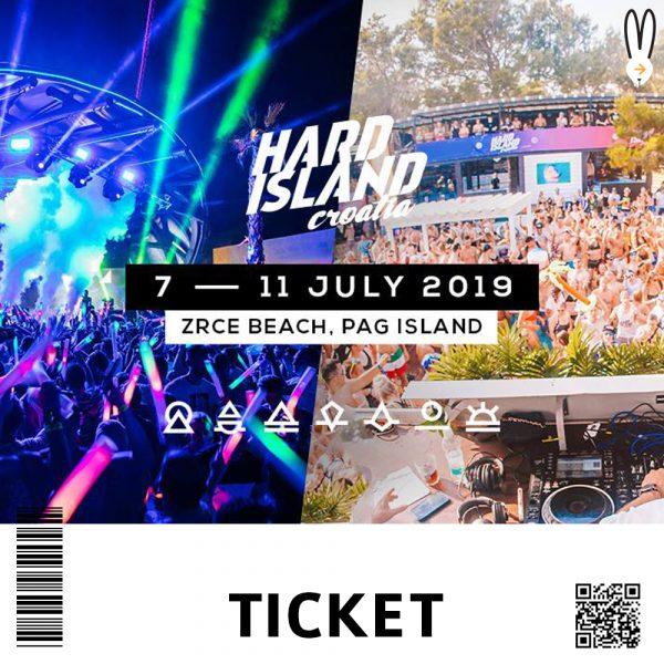 ticket HARD ISLAND 2019