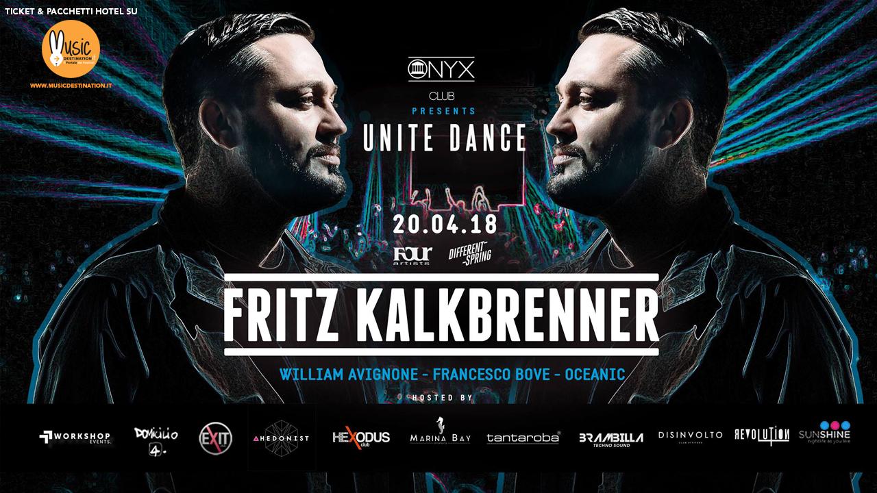 Fritz Kalkbrenner – ONYX CLUB RAVENNA  – 20 Aprile 2018