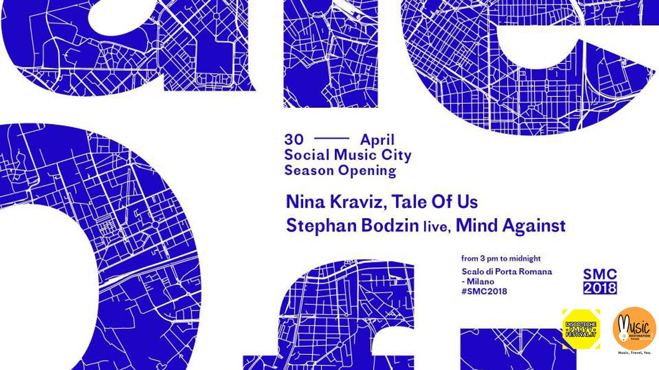 Social Music City | Opening Party – Lunedì 30 Aprile 2018 – Nina Kraviz