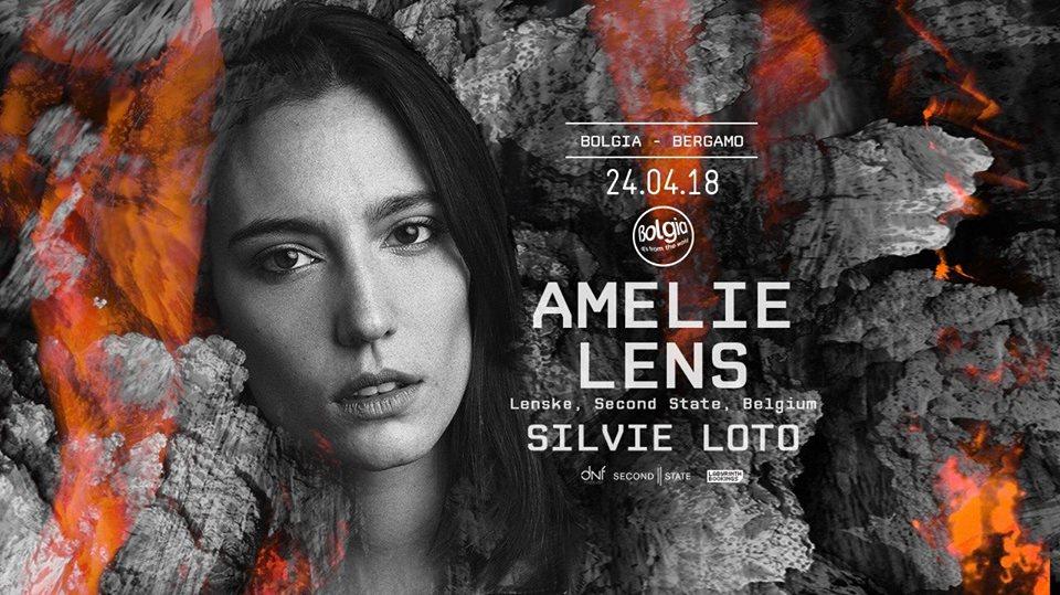 BOLGIA Bergamo – Amelie Lens + Silvie Loto  – 24 Aprile 2018