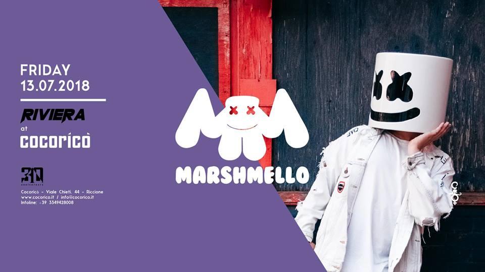 COCORICO' | Riviera w/ Marshmello  | 13 Luglio 2018